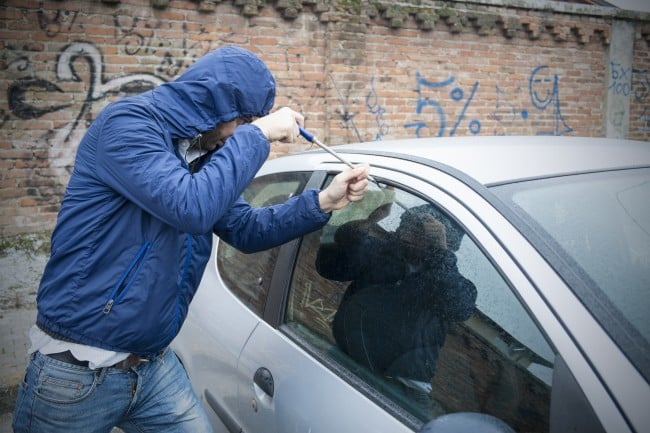 protect your car from burglars